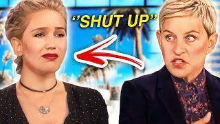 When Ellen Gets PISSED At Guests! *RUDE*