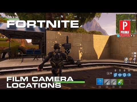 Fortnite - All Film Camera Locations