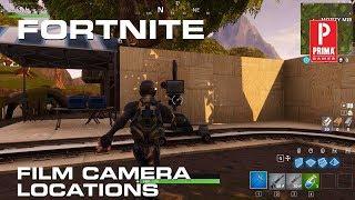Fortnite - All Film Camera Locations