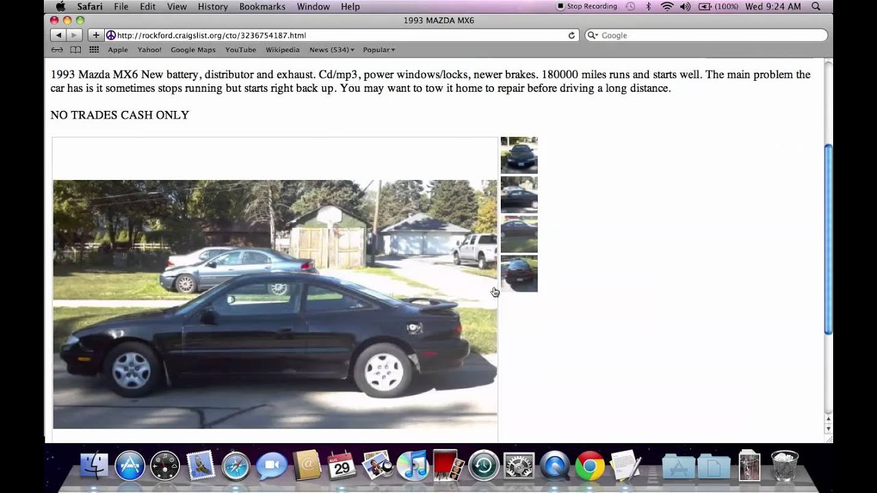 Craigslist Rockford Illinois Used Cars  For Sale by Owner Options
