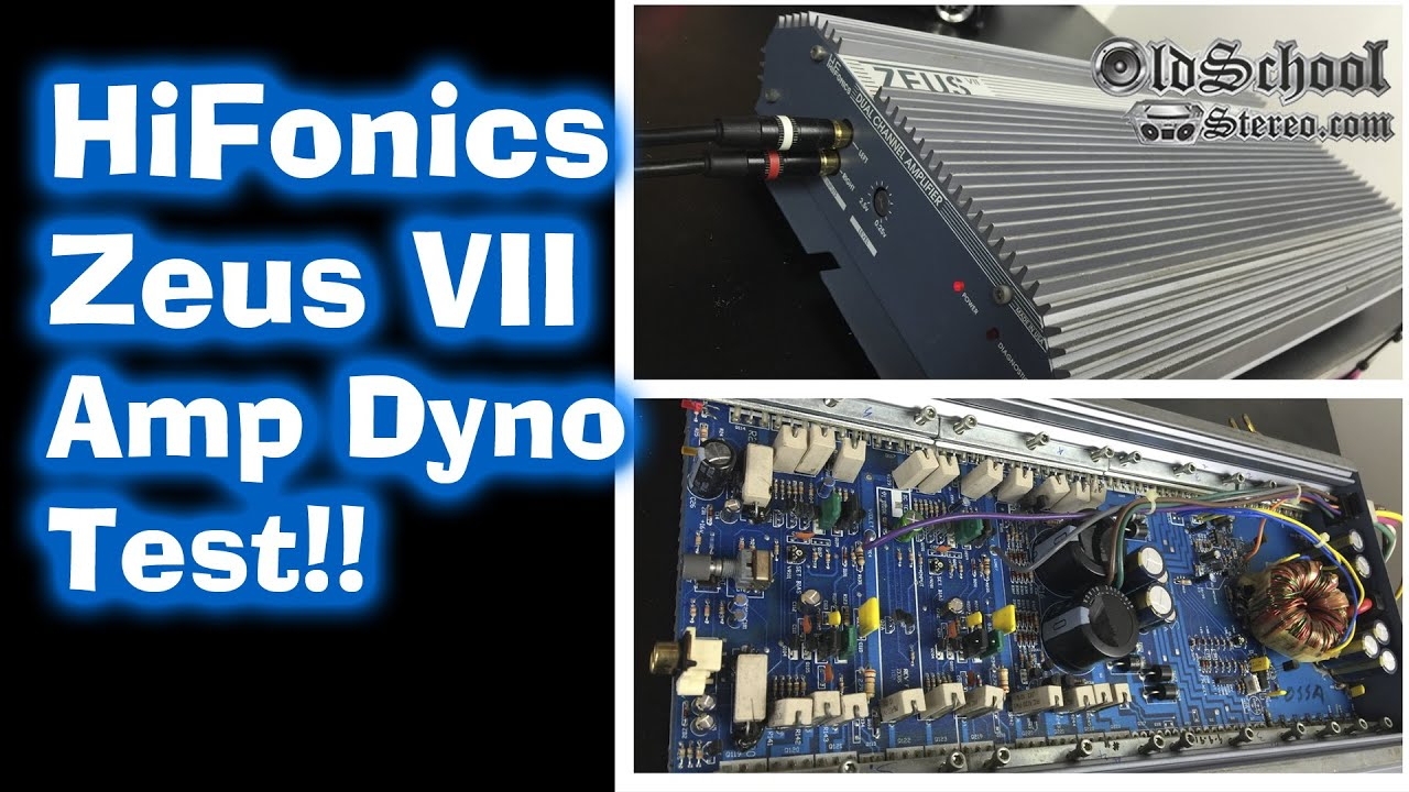 1990 Hifonics Zeus Vii Amp Dyno Test Rms Wattage Old School Youtube Wiring Diagram