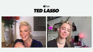'Ted Lasso' stars Hannah Waddingham, Juno Temple reveal 'biscuits with the boss' didn't taste great