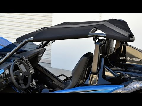 polaris slingshot removable canvas roof top - Polaris Slingshot Roof
