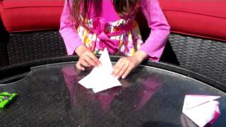 Eliana's Origami Rabbit How To Video
