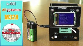 """Измеряет частоту и включает телевизор - обзор транзистор-тестера """"M328"""" на AliExpress"""