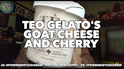 ICE CREAM REVIEW: Teo Gelato's Goat Cheese & Cherry