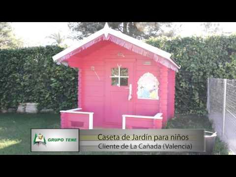 Casas de madera grupo tene caseta de jard n para ni o for Casa jardin ninos