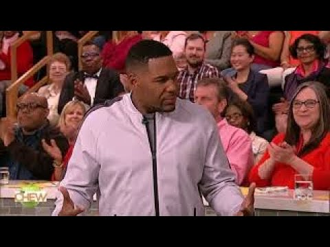 Big The Chew (August 24, 2017) Michael Strahan HD