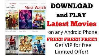 Download Latest Bollywood and Hollywood Movie For Free || GET VIP FREE LIMITED OFFERS || MUST WATCH