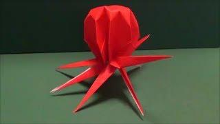 「タコ」折り紙
