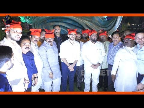 Aditya Thackeray innaugurates Daryacha Raja Shilp at Airoli