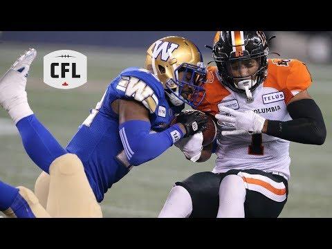 CFL Recap: BC At Winnipeg - Wk.10 2019