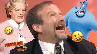 COMEDY LEGEND ROBIN WILLIAMS On Mrs Doubtfire Aladdin And More!