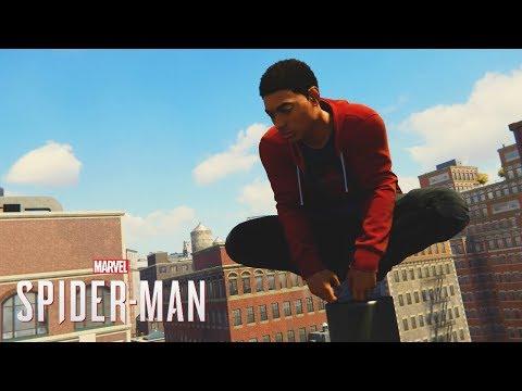 Spider-Man PS4: Miles Morales SuitFree Roam Mod