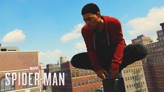 Spider-Man PS4: Miles Morales Suit/Free Roam (Mod)
