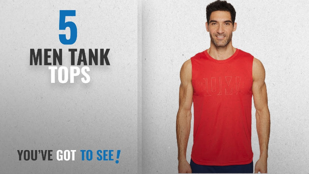 562402d3b684e Puma Tank Tops [ Winter 2018 ]: PUMA Men's Energy Sleeveless Tee Toreador  Tank Top