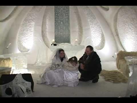 Mariage Quebec Wedding Quebec Hotel De Glace Ice Hotel