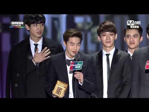 [ENG] 141203 MAMA Artist of the Year EXO Speech