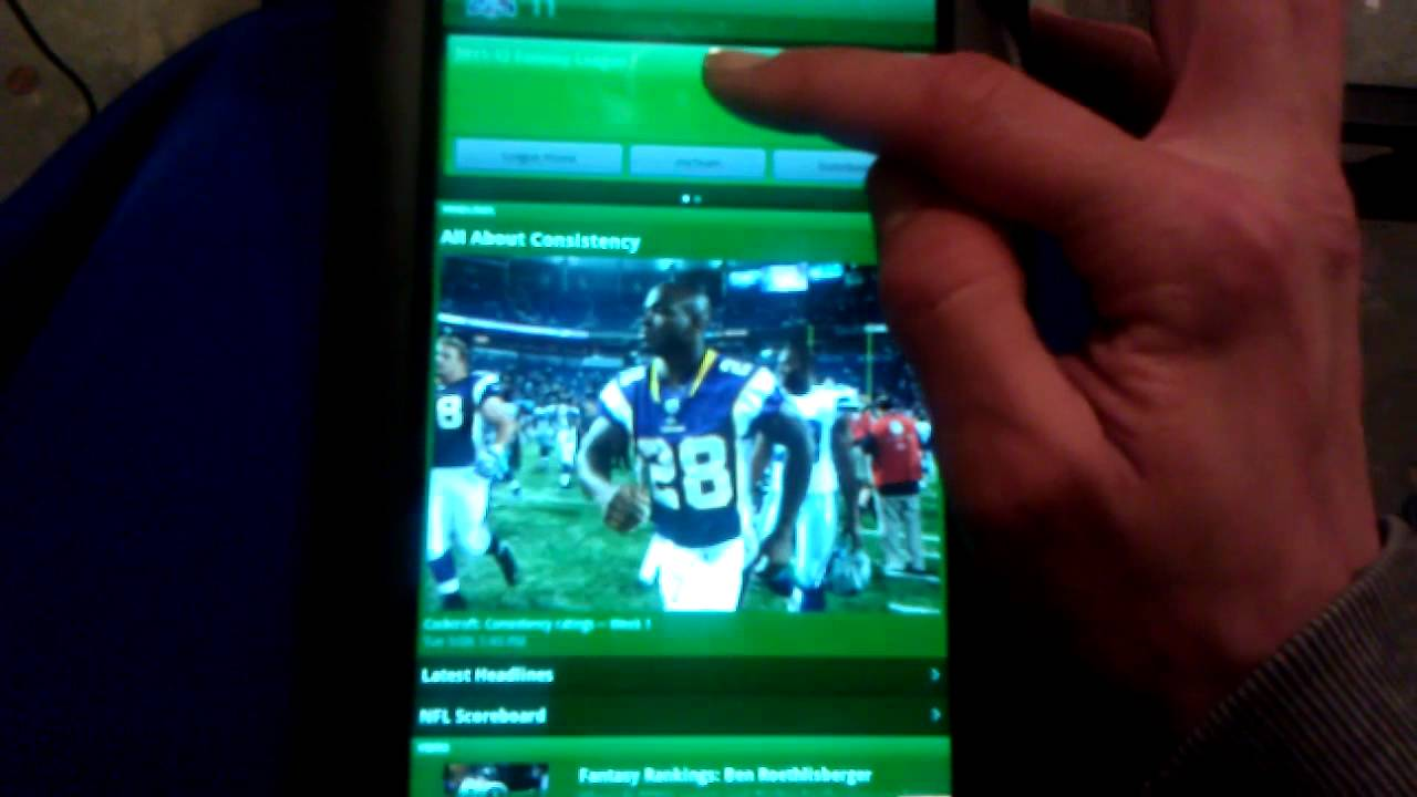 ESPN Fantasy Football app for Android