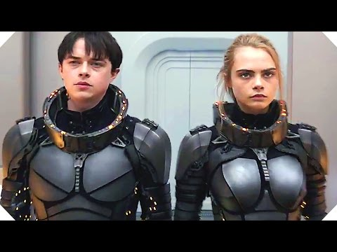 VALERIAN (Sci Fi Movie, 2017) - TRAILER