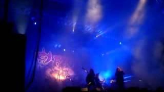 saxon - intro+opening song live @ metalfest 2011 dessau germany