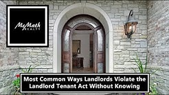 Most Common Ways Landlords Violate the Arizona Landlord Tenant Act Without Knowing