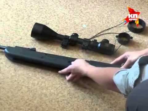 В Подмосковье мужчина обстрелял из пневматической винтовки детский сад и парковку