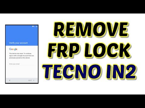 Tecno IN2 FRP Lock Remove by SP Flash tool   Hindi - Urdu