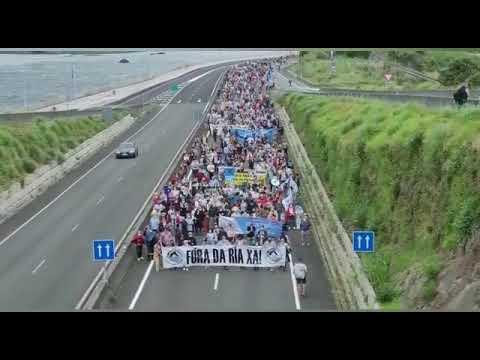 "Una marcha pide anular la prórroga ""ilegal"" de Ence"
