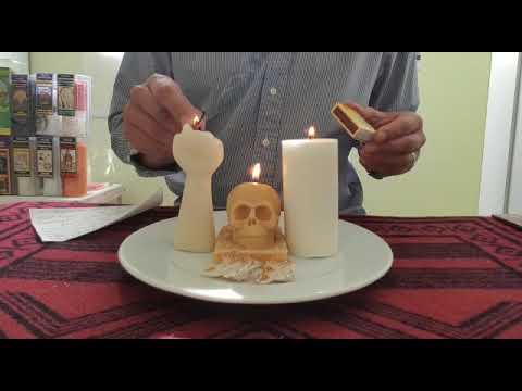 Ritual Santa Muerte, para transmutar lo negativo en positivo.
