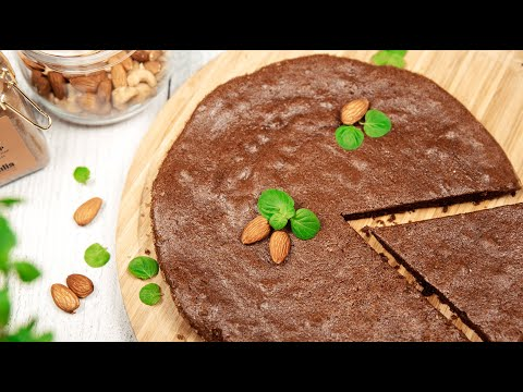 Шоколадный ТОРТ Всего из ДВУХ Ингредиентов | Шоколадный Торт без МУКИ и САХАРА