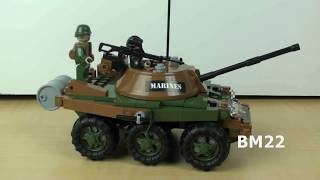 Cobi Bricks Small Army Saracen APC Brick Toy Review