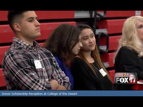 Hundreds of College of the Desert scholarship recipients meet their generous donors