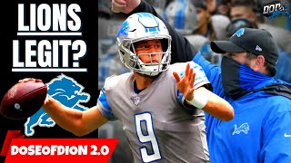 Are The Detroit Lions LEGIT Contenders? Defense Improves/ Stafford Is Back!