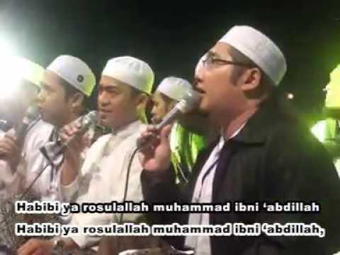 Habibi Ya Rosulallah Muhammad Ibni Abdillah  voc Gus Wahid Ahbabul Musthofa (Lirboyo Bersholawat)