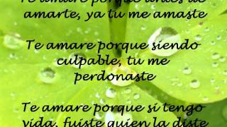 Te amare, Abraham Velazquez LETRA
