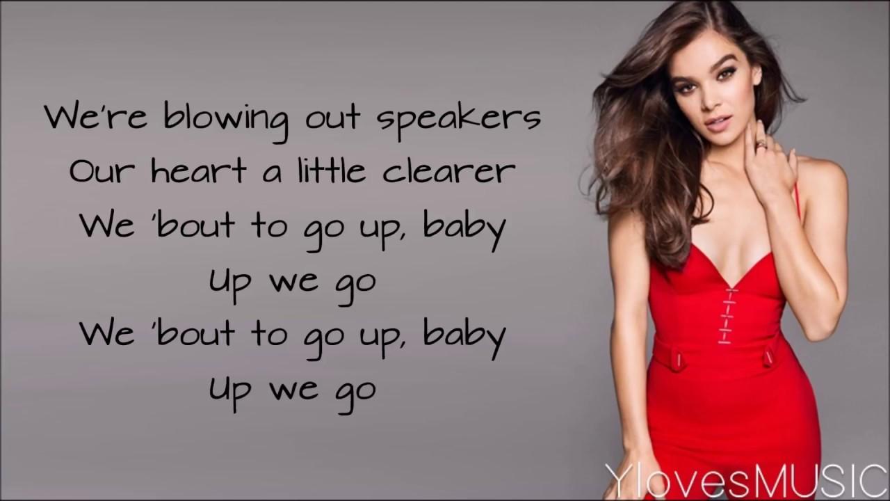 5354e110a0 Hailee Steinfeld   Bloodpop® - Capital Letters (Lyrics) - YouTube