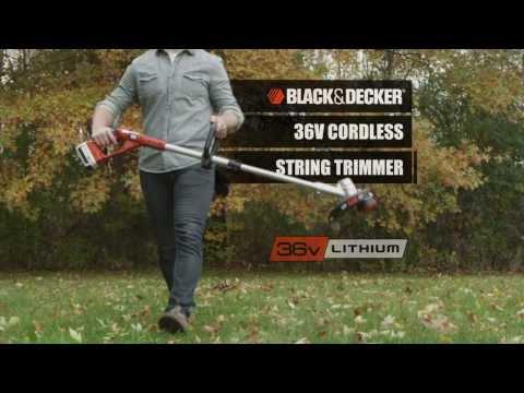 Black & Decker 36 Volt Lithium Ion Li-ion Cordless Outdoor Garden Tools - Tools & Parts Direct UK