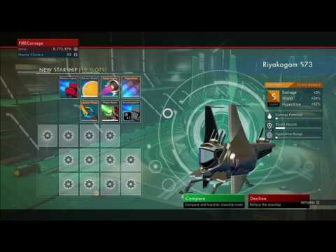 No Man's Sky How To Own Multiple Ships (S Rank Ship)