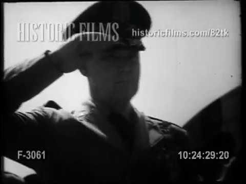 FINAL SALUTE FOR RETIRING GENERAL VANDERBURG - 1953