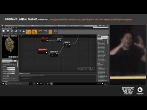 Getting Started with Technical Art in Unreal Engine 4 with Chris Murphy (Unreal Engine Evangelist)
