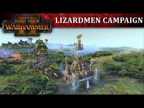 Total War: WARHAMMER II – Lizardmen Campaign Let's Play