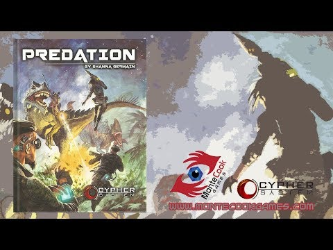 Game Geeks #295 Predation: for the Cypher System by Monte Cook Games