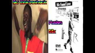 "Rihanna VS. Afro-Asian Boy - ""Hey Baby, We Found Love"" (DJ Elektroshock Mix)"