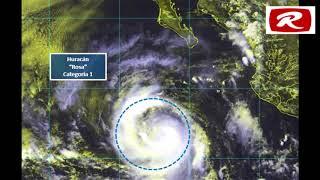 ATENCIÓN MEXICANOS...¡Alerta en Baja California, tormenta Rosa se convirtió ya en huracán!