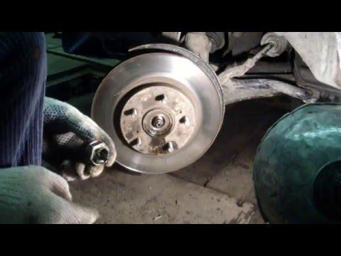 видео: honda crv Замена подшипника ступици и задней стойки