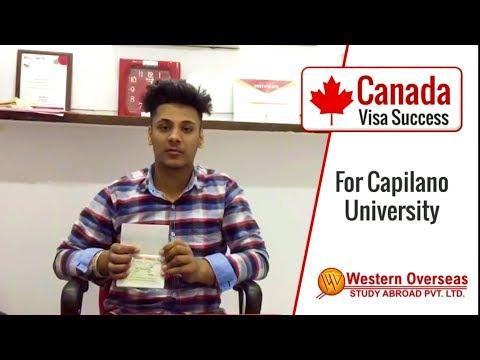 Canada Visa Success - Capilano University