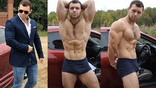 BEST MUSCLES AESTHETIC WITH 21 YEARS OLD HANDSOME BOY | FLEXING AND PUMPING IN GYM