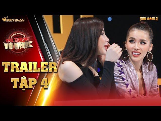 Đấu trường võ nhạc  trailer tập 4: Diệp Lâm Anh, Minh Tú mê mẩn trước những chàng trai nhóm Nak Muay
