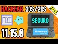 Como Hackear Nintendo 3DS/2DS SIN PERDER DATOS SUPER FÁCIL 2020 (Versión 11.13.0)